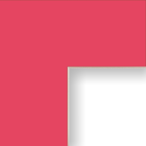 Hot Pink Matting Mat Board For Picture Frame With Pre Cut